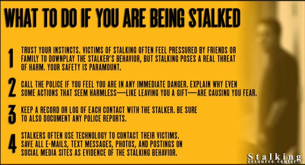 getting rid of a stalker